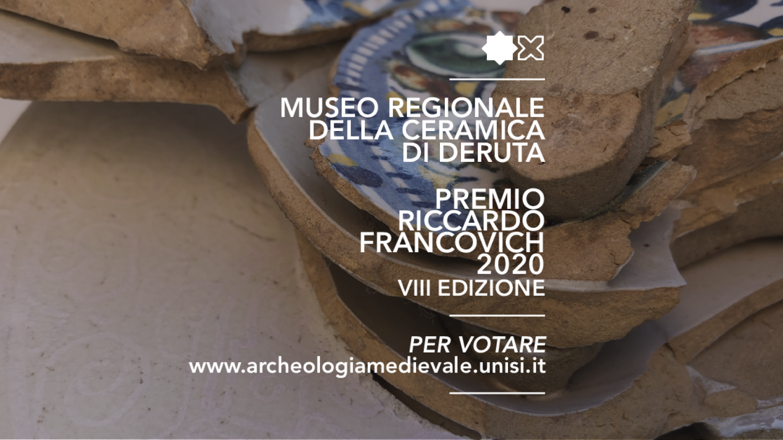 The Regional Ceramics Museum in Deruta selected for Renato Francovich prize aword 2020