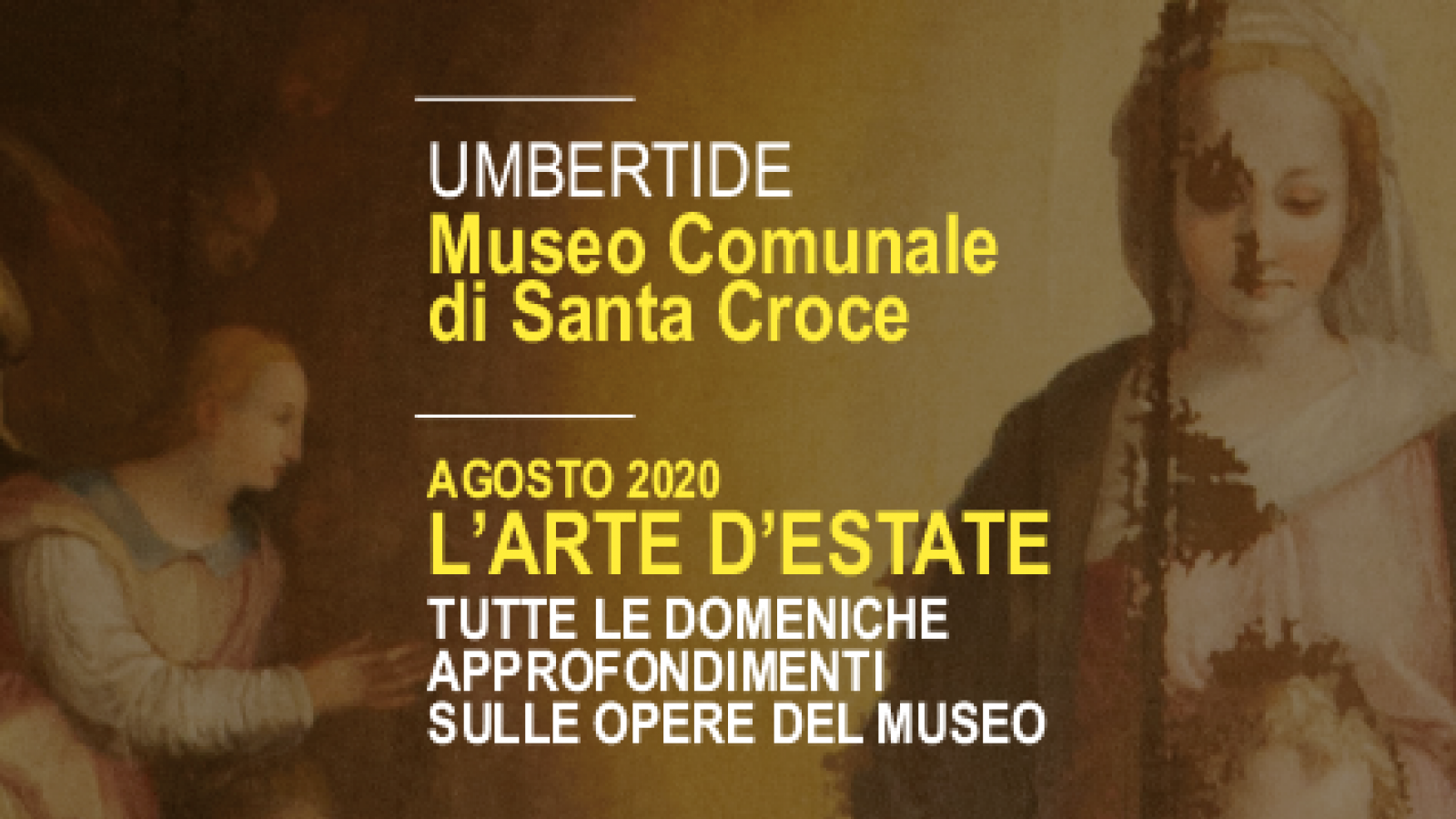 Museum of Santa Croce_Umbertide_The Art of Summer_insights on the works of the museum
