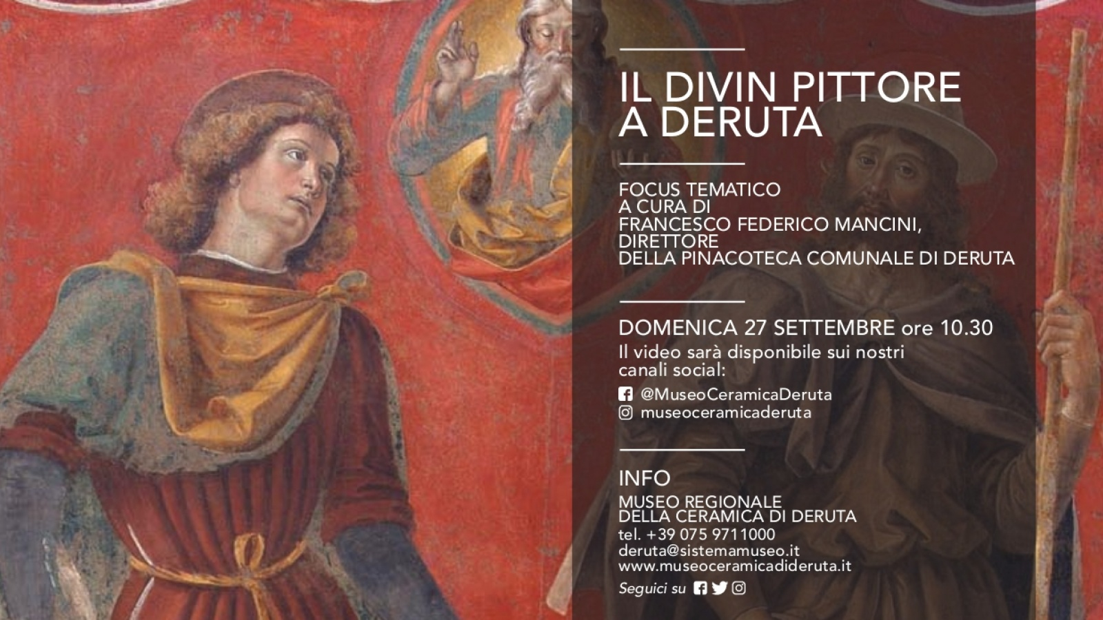 European Heritage Days 2020: the Divine Painter in Deruta