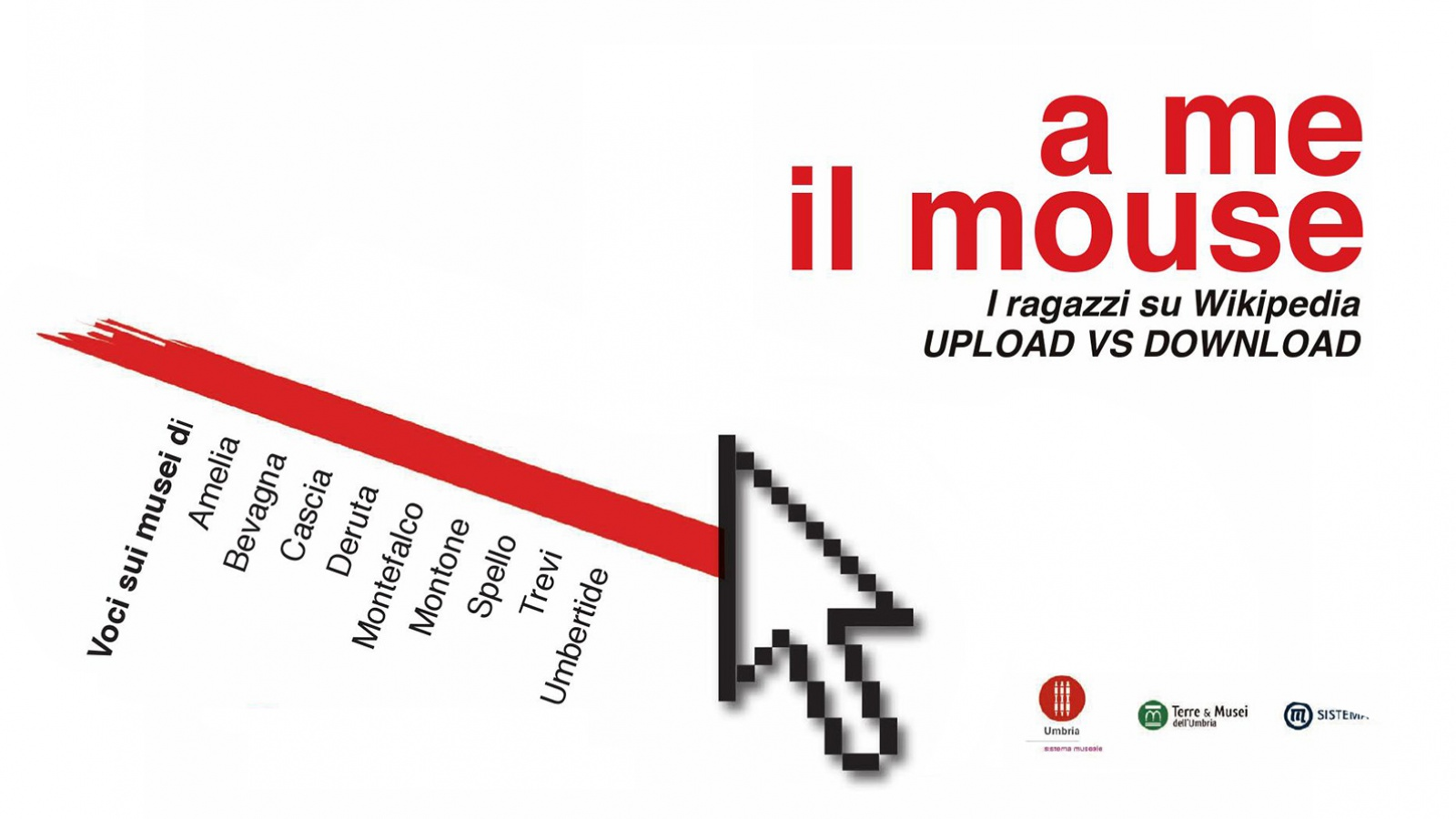 A ME IL MOUSE. I ragazzi su Wikipedia - upload vs download